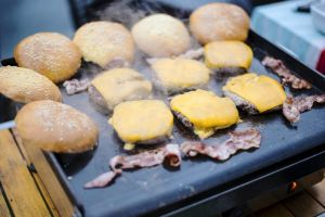cuisson hamburger