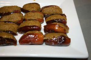 dattes à la pâte de pistache